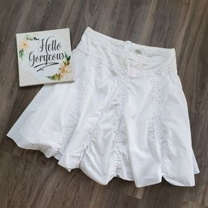 🔴 4/$20 Studio Y White Cotton Skirt XL